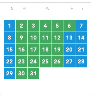 Disney California Adventure Park Flex Passport March 2020 calendar good to go: 2 – 6, 9 – 12, 16 – 19, 23 – 26, 30 – 31 reservation required: 1, 7 – 8, 13 – 15, 20 – 22, 27 – 29