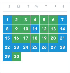 Disneyland Park Flex Passport November 2020 calendar good to go: 2 – 6, 9 – 10, 12 – 13, 16 – 20, 30 reservation required: 1, 7 – 8, 11, 14 – 15, 21 – 29